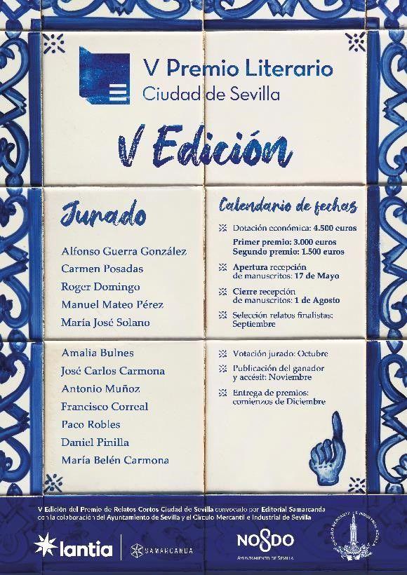 V edición de Premio de Relatos Cortos Ciudad de Sevilla