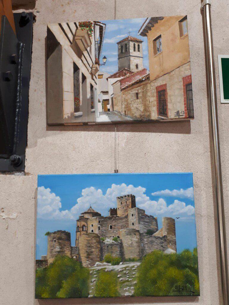 La obra del pintor local Alfonso Plaza, hasta el 31 de julio, en El Molino